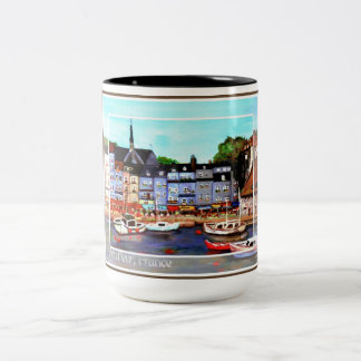 Honfleur, France Painting Mug