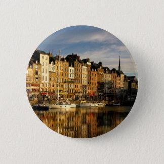 Honfleur, France Pinback Button