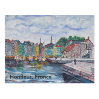 Honfleur, France Postcard