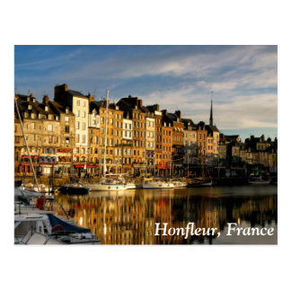 Honfleur, France Postcard