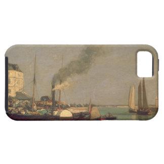 Honfleur. La Jetee, 1854-57 (aceite en el panel) iPhone 5 Carcasa