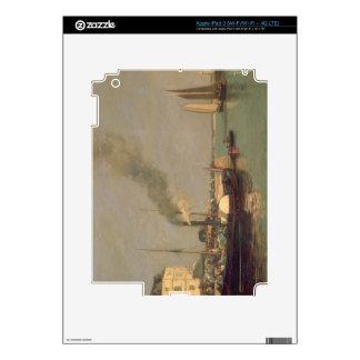Honfleur. La Jetee, 1854-57 (oil on panel) Decals For iPad 3