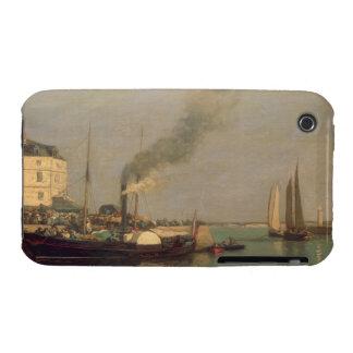 Honfleur. La Jetee, 1854-57 (oil on panel) iPhone 3 Cover