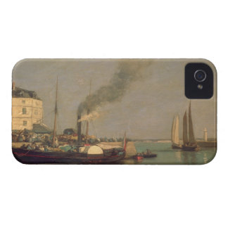 Honfleur. La Jetee, 1854-57 (oil on panel) iPhone 4 Cover