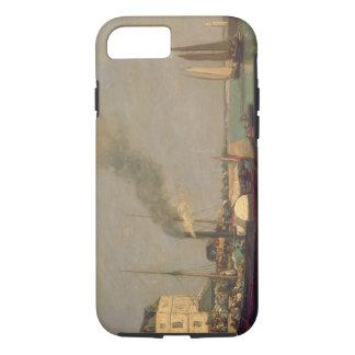 Honfleur. La Jetee, 1854-57 (oil on panel) iPhone 7 Case