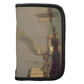 Honfleur. La Jetee, 1854-57 (oil on panel) Folio Planners