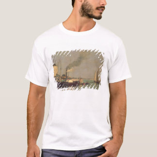 Honfleur. La Jetee, 1854-57 (oil on panel) T-Shirt