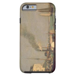 Honfleur. La Jetee, 1854-57 (oil on panel) Tough iPhone 6 Case