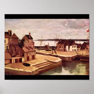Honfleur, Maison Sur le Quais_Landscapes Poster