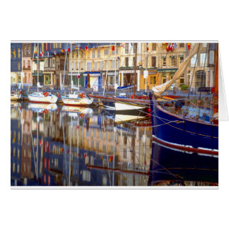 Honfleur Reflections Card