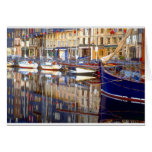 Honfleur Reflections Greeting Card
