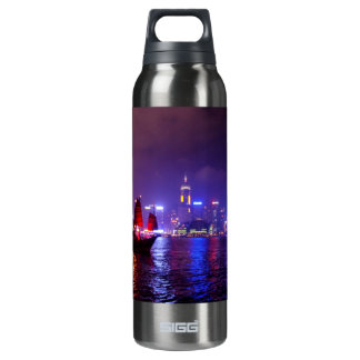 Hong Kong 16 Oz Insulated SIGG Thermos Water Bottle