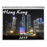 Hong-Kong 2015 Calendarios De Pared