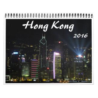 Hong-Kong 2016 Calendario