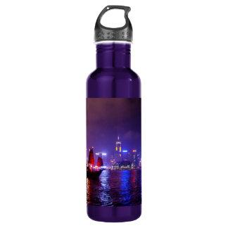 Hong Kong 24oz Water Bottle