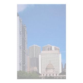 Hong Kong and Shanghai Bank headquarters, Hong Kon Stationery Paper