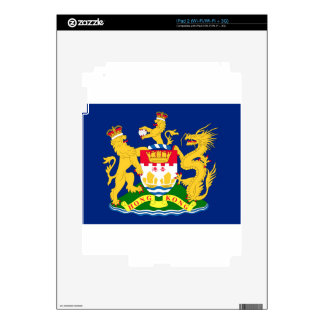 Hong Kong Autonomy Movement Flag iPad 2 Decal