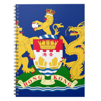 Hong Kong Autonomy Movement Flag Notebook