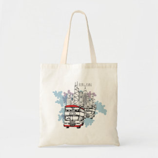 Hong Kong Busy Life Style scenery(without caption) Tote Bag