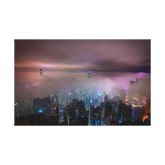 Hong kong canvas
