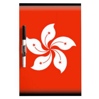 Hong Kong (China) Flag Dry Erase Boards