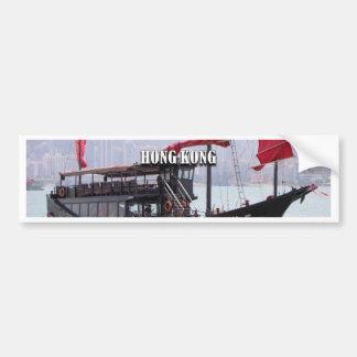 Hong Kong: Chinese junk Bumper Sticker