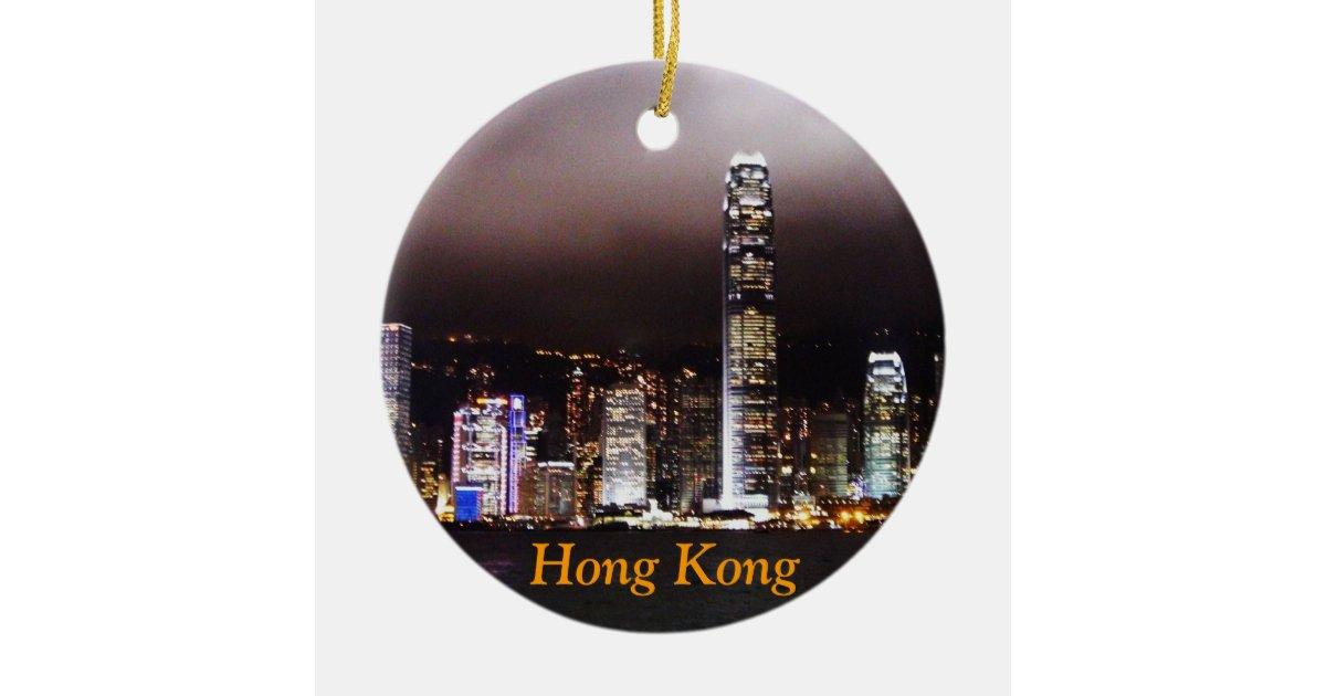Hong Kong Christmas Ornament Zazzle