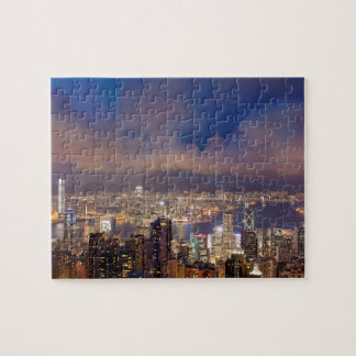 Hong Kong City and Victoria Harbour View Puzzle