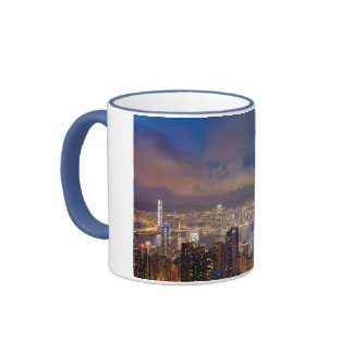 Hong Kong Cityscaope and Victoria Harbour View Mug