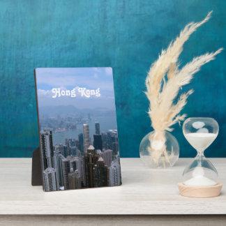 Hong Kong Cityscape Display Plaque