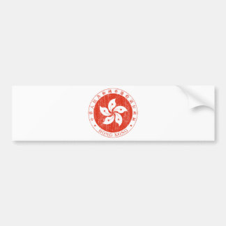 Hong Kong Coat Of Arms Bumper Sticker