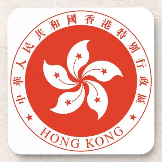 Hong Kong Coat Of Arms Coaster