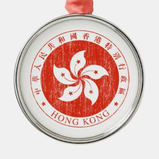 Hong Kong Coat Of Arms Ornaments