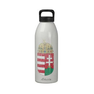 Hong Kong Coat Of Arms Reusable Water Bottles