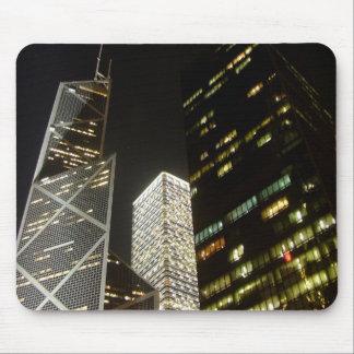 Hong Kong Commerce at Night Mouse Pad