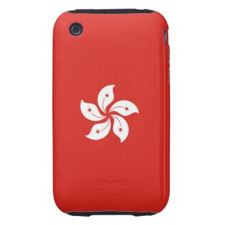 hong kong country flag flower case