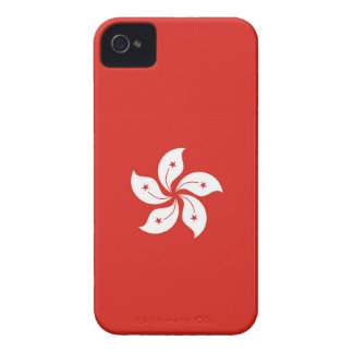 hong kong country flag flower case