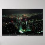 Hong Kong del pico de Victoria Posters