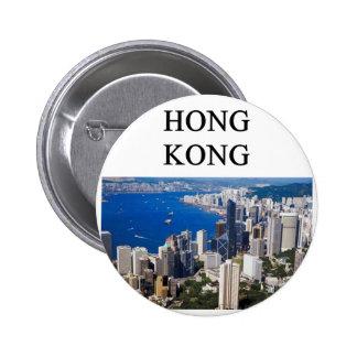 hong kong design pinback buttons