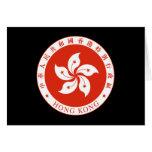 hong kong emblem cards