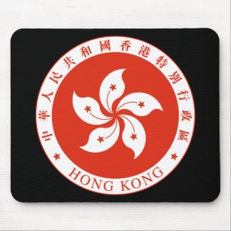 hong kong emblem mouse pads