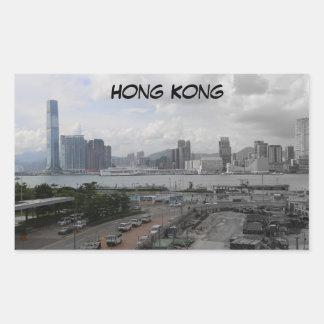 Hong Kong Faded Color Sticker
