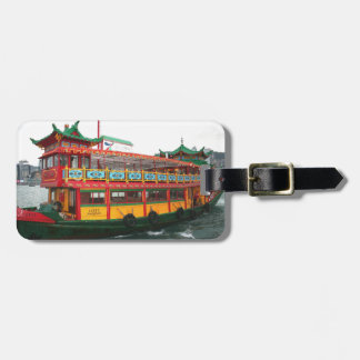 Hong Kong Ferry Luggage Tag