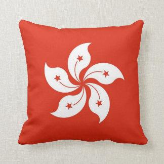 Hong Kong Flag American MoJo Pillow