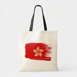 Hong Kong Flag Canvas Bags