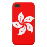 """Hong Kong Flag """"Classic"""" Case For iPhone 4"""