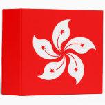 "Hong Kong Flag ""Classic"" Vinyl Binder"