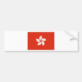 Hong Kong Flag HK Bumper Sticker