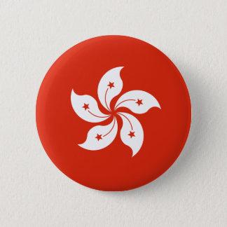Hong Kong Flag HK Pinback Button