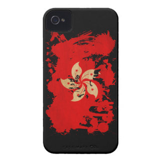 Hong Kong Flag iPhone 4 Cover